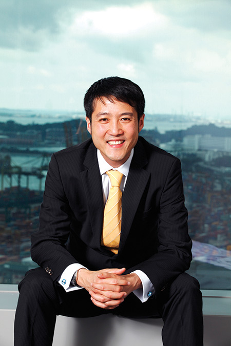 Lionel Lee, <br> CEO of Ezra Holdings Source: Ezra Holdings