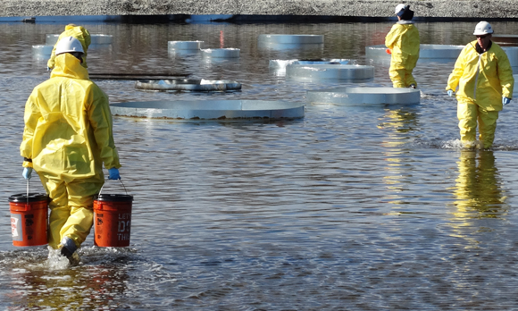 JIP Tests Herders, In-Situ Burning for Arctic Oil Spill Response Potential