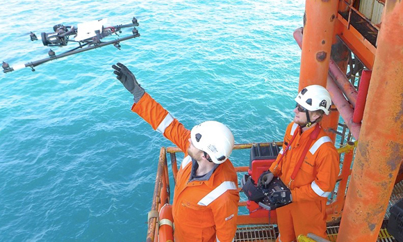 Cyberhawk Completes Drone Inspection Work for Offshore Canada Client