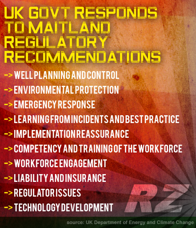 UK Govt Responds to Maitland Regulatory Recommendations