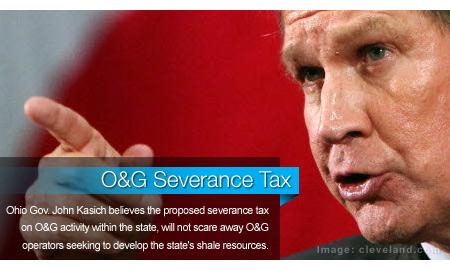 Kasich: O&G Severance Tax Won't Scare Away Operators