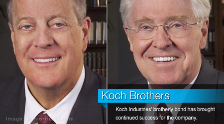 Koch Brothers Stay True to Selves amid Occupy Backlash