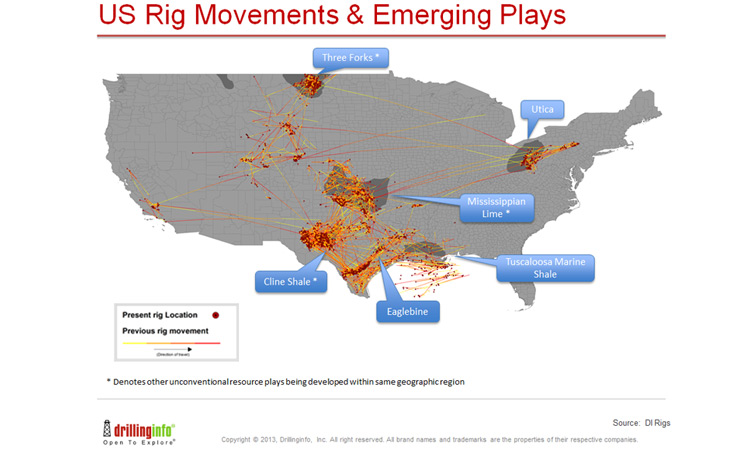 US Shale Plays To Watch In Rigzone - Us shale plays map