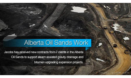 Jacobs Wins More Than $1.4B in Alberta Oil Sands Work