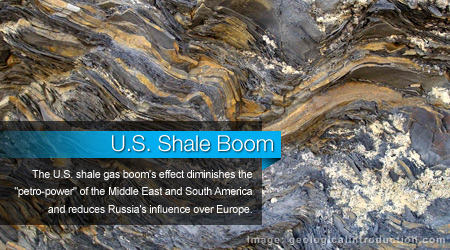 U.S. Shale Boom Reduces Russian Influence Over European Gas Market