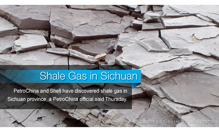 PetroChina, Shell JV Finds Shale Gas in Sichuan