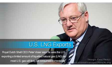 Voser: U.S. LNG Exports Likely Limited Due to Domestic Demand
