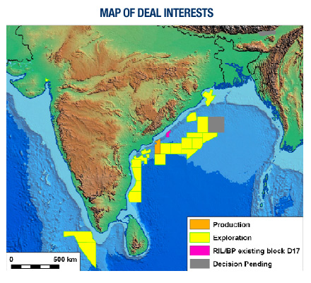 India: Map Of Deal Interests