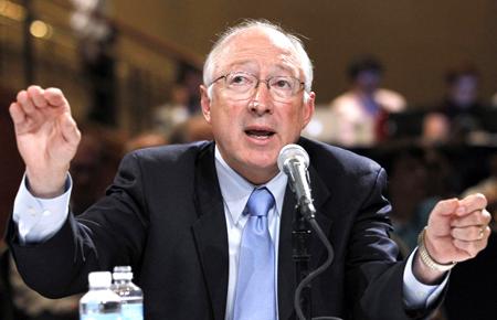 Interior Secretary, Ken Salazar