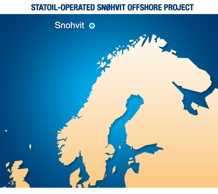 Statoil operated Snohvit offshore project