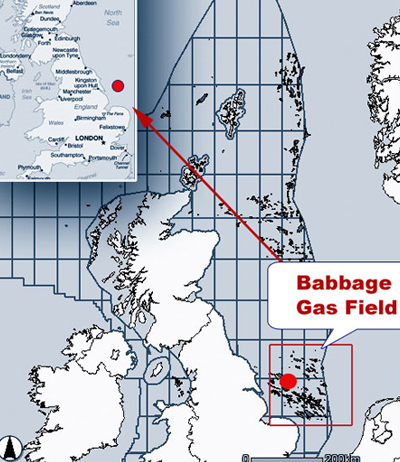 Babbage Gas Field