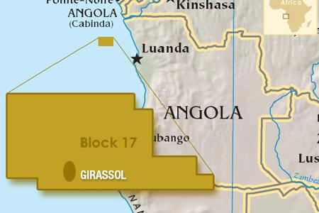 Girassol Map