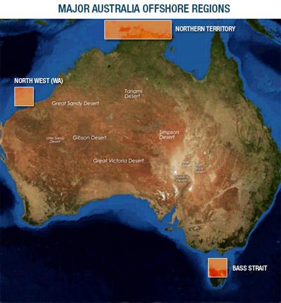 Map Australia Regions