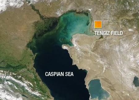 Tengiz Field Caspian