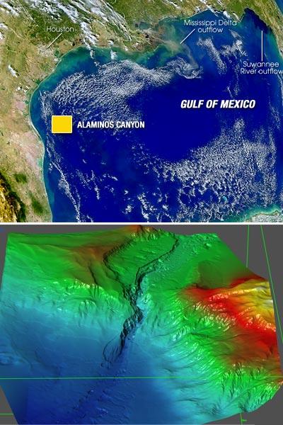 Map: Alaminos Canyon