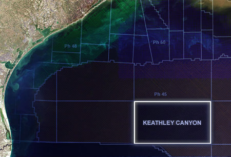 Map: Keathley Canyon