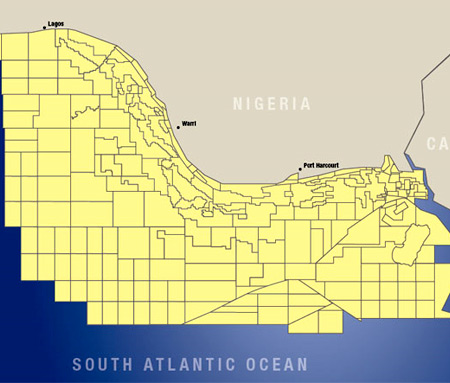 Nigeria: Offshore Blocks and Fields