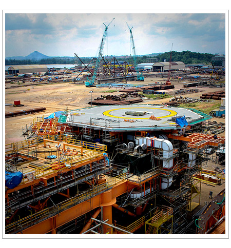 Pluto liquefied natural gas (LNG) project