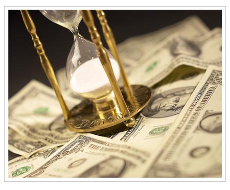 Money Hourglass