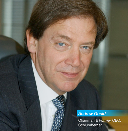 Andrew Gould: Chairman & Former CEO, Schlumberger