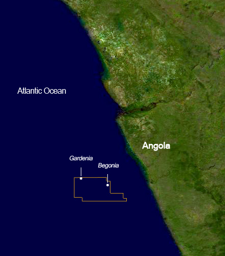 Angola offshore blocks: Gardenia and Begonia