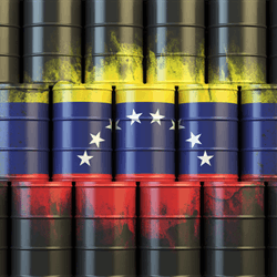 Venezuela's crude oil production fell nearly 13% last year, according to figures released by OPEC.