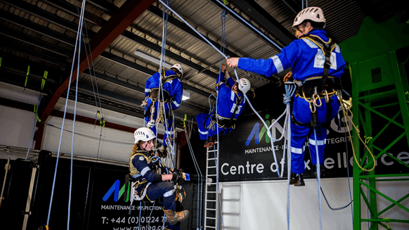 New Rope Access Training Center Opens in Aberdeen, Creates New Jobs