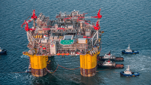 Shell's Appomattox FPS Reaches Offshore Louisiana Destination