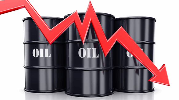 WTI Crude Oil Falls 3%