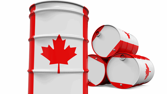 Canada's Plan to Cut Oil Output Boosts Crude, Stocks