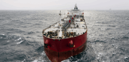 Supertanker Loads American Oil Without Nearing US