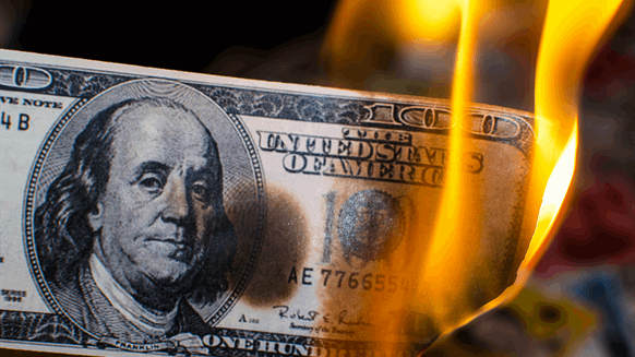 US Shale Companies are Burning through Cash
