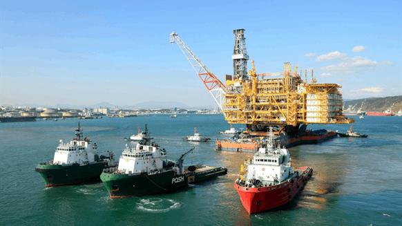 Offshore Myanmar Platform FEED Goes to Doris, Hyundai