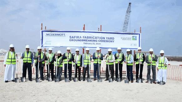 McDermott Starts Construction at Aramco Maritime Complex