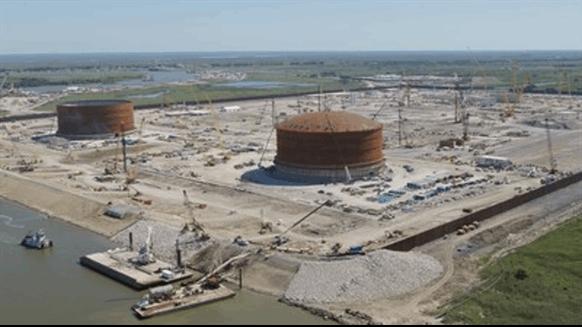 Gulf Coast LNG Project Hits Milestone
