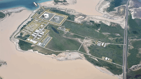 Texas LNG Project Secures Air Permit