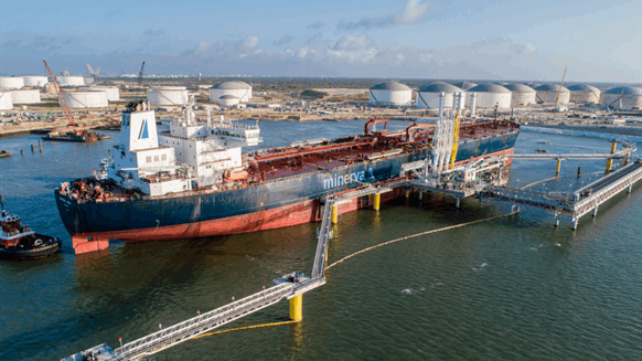 Permian Crude Loads at New Coastal Terminal