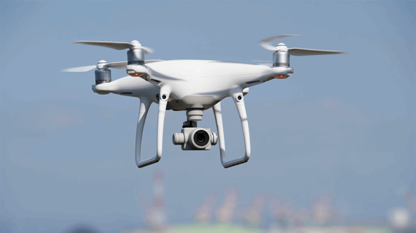 Refiners Fight Virus with Drones