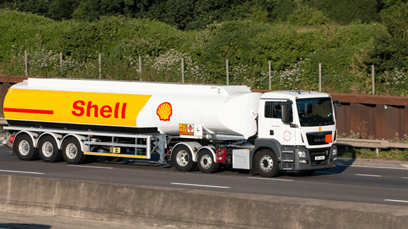 Shell Shares Hit Lowest Point Since 1995
