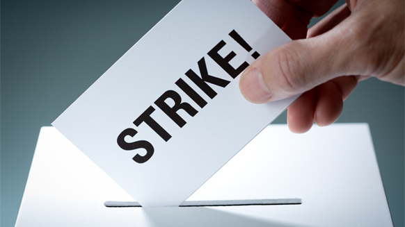 To Strike or Not to Strike? Depends on Where You Work