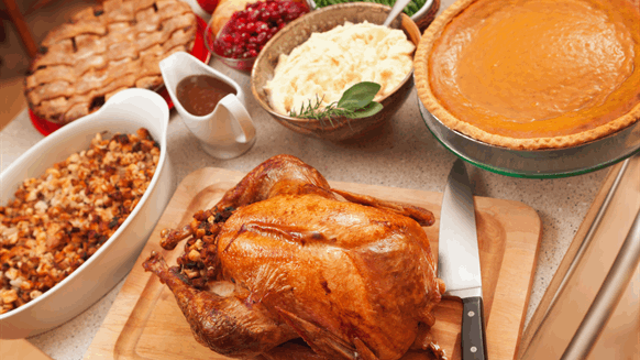 BLOG: Your Belly Might Not Be the Only Thing Full Around Thanksgiving