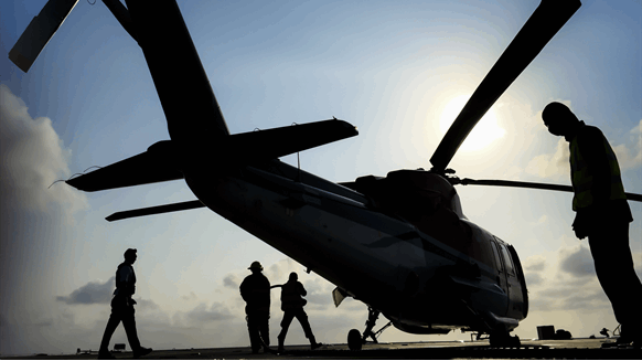 Report: Offshore Oil, Gas Helicopter Expenditure to Hit $16B to 2022