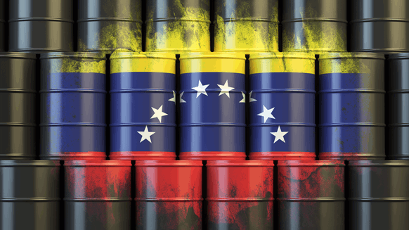 Crisis-Hit Venezuela's Oil Output Plummets In 2017 To Decades Low