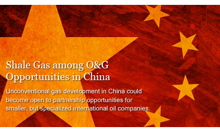 Shale Gas among O&G Opportunities in China