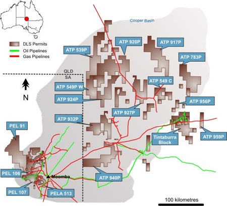 Australia Players Still Pursuing Cooper Basin Shale Gas Potential