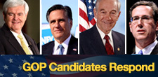 Responses from GOP Candidates | DownstreamToday.com