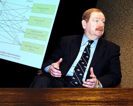 John Felmy, chief economist, American Petroleum Institute [API]