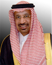 Khalid al-Falih, Minister of Energy, Industry and Mineral Resources, Saudi Arabia Chairman, Saudi Aramco