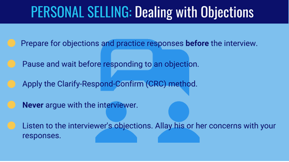 Tips For Handling/overcoming Objections In A Job Interview