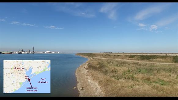NextDecade LNG - Shoal Point, Texas, site